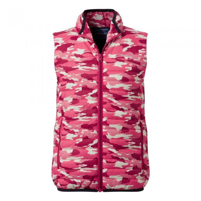 Kids Climaplus Vest Electric Pink