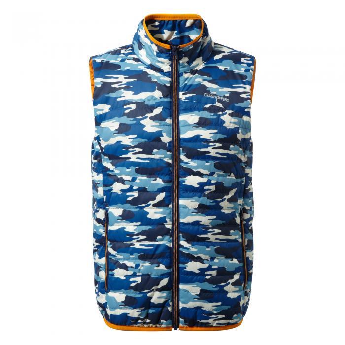 Kids Climaplus Vest Deep Blue Combo