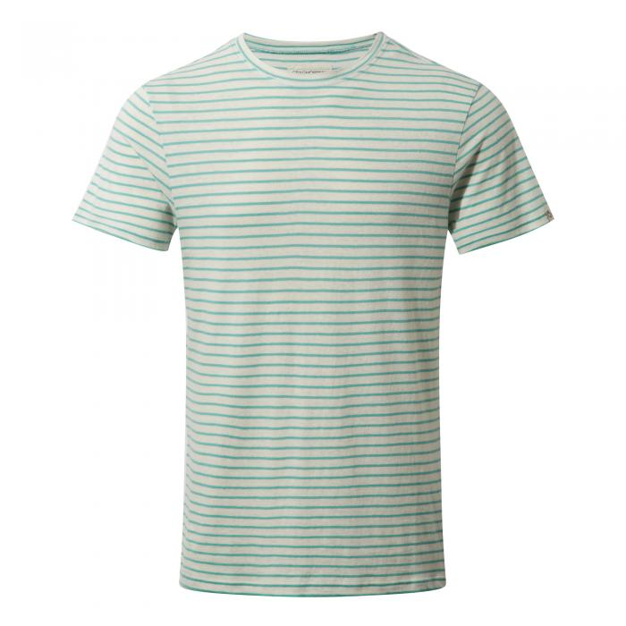 Bernard Short Sleeved T-Shirt Seafoam Combo