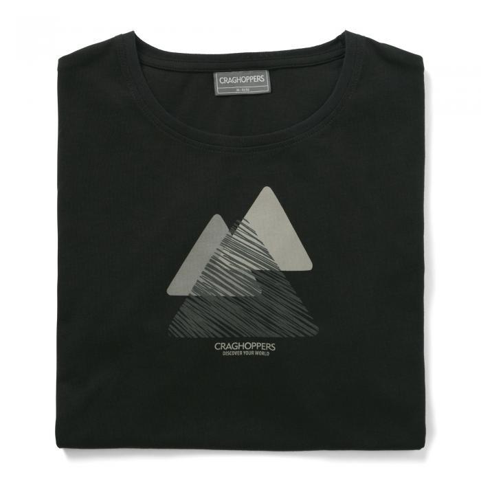 Eastlake Short Sleeved T-Shirt Black