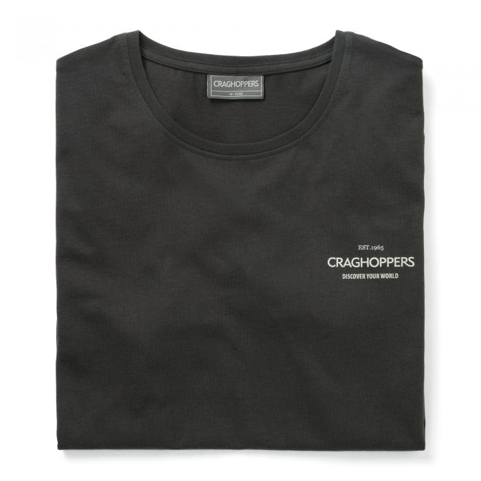 Eastlake Short Sleeved T-Shirt Black Pepper