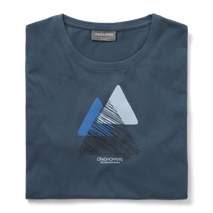 Eastlake Short Sleeved T-Shirt Vintage Indigo