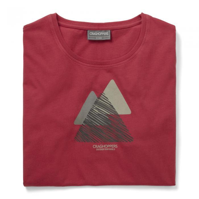 Eastlake Short Sleeved T-Shirt Barn Red
