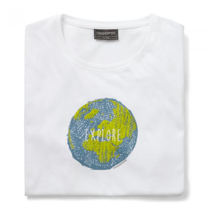 Eastlake Short Sleeved T-Shirt Optic White