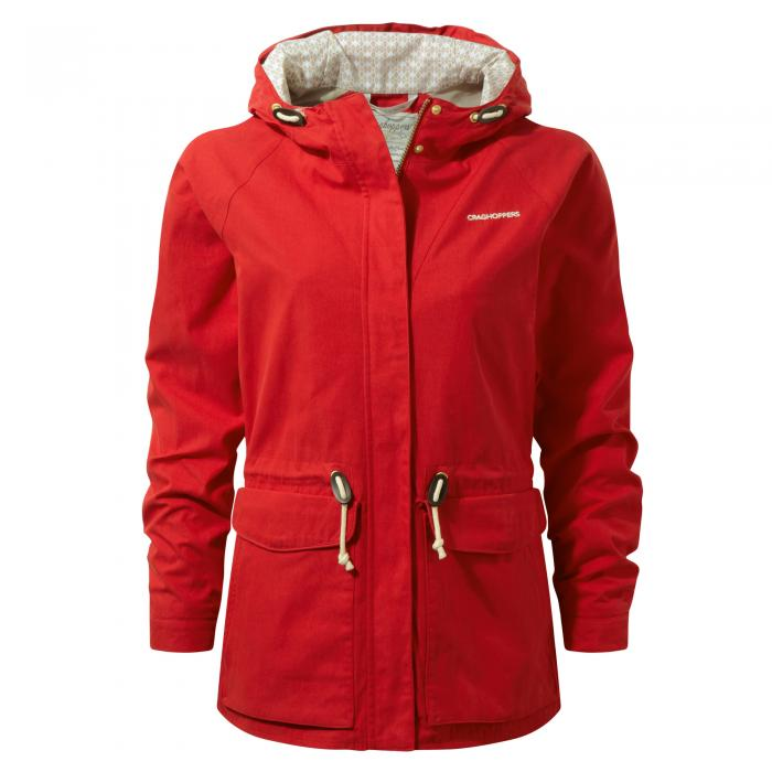 Wren Jacket Fiesta Red