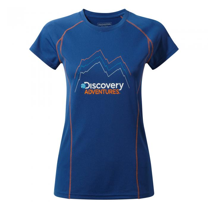 Discovery Adventures Short Sleeved T-Shirt Deep Blue