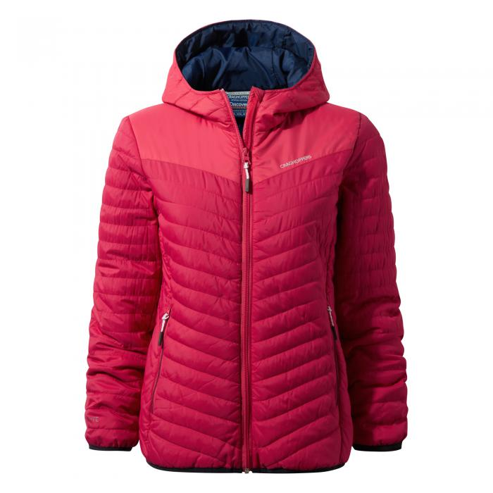 Womens Discovery Climaplus Jacket Electric Pink