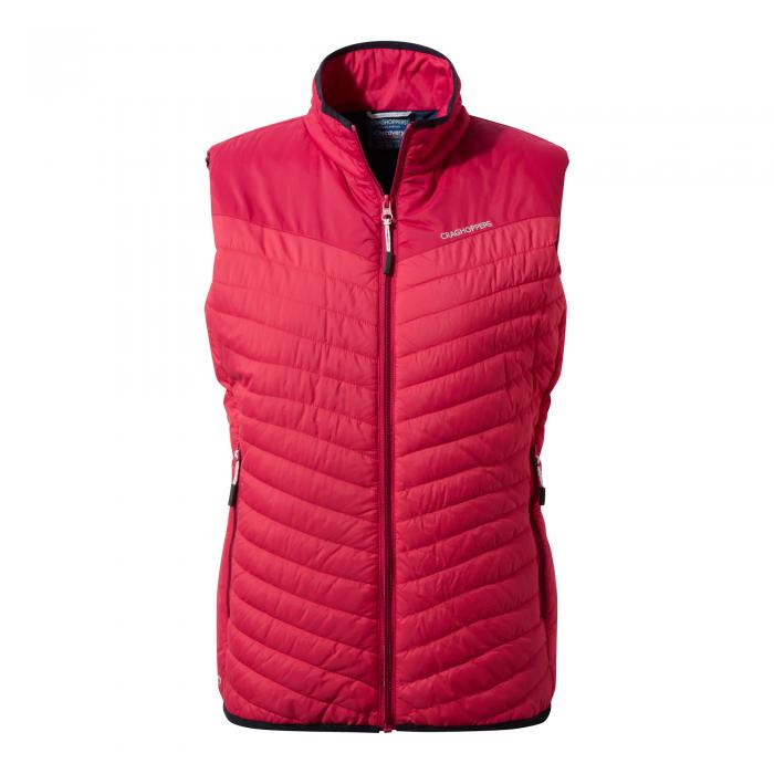 Womens Climaplus Vest Electric Pink