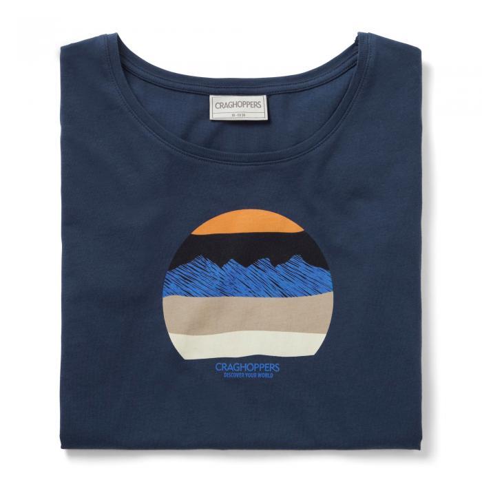 Tansa Short Sleeved T-Shirt Night Blue