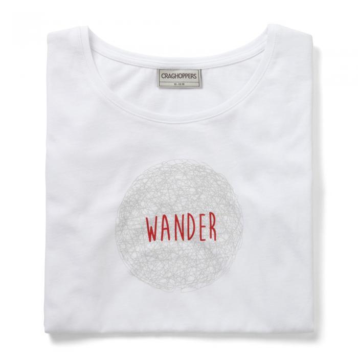 Tansa Short Sleeved T-Shirt Optic White