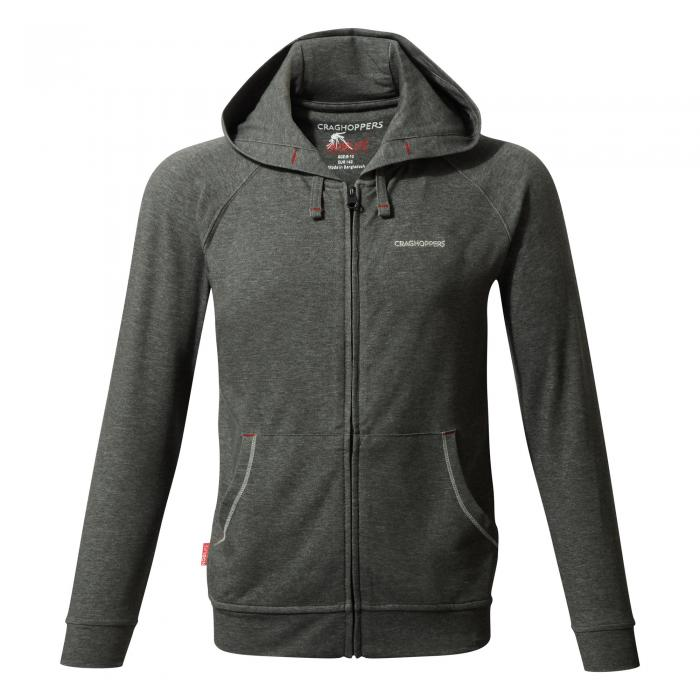 NL Ryley Hoody Black Pepper Marl