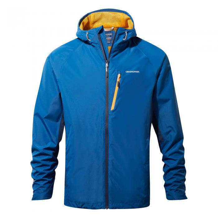 Mens Waterproof Jacket Deep Blue