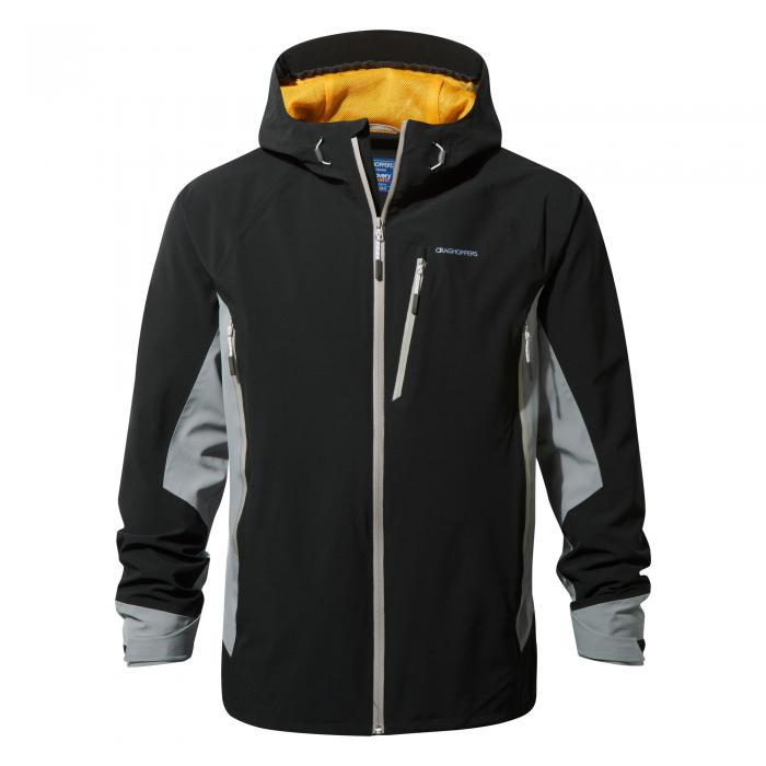 Discovery Adventures Stretch Jacket Black Quarry Grey