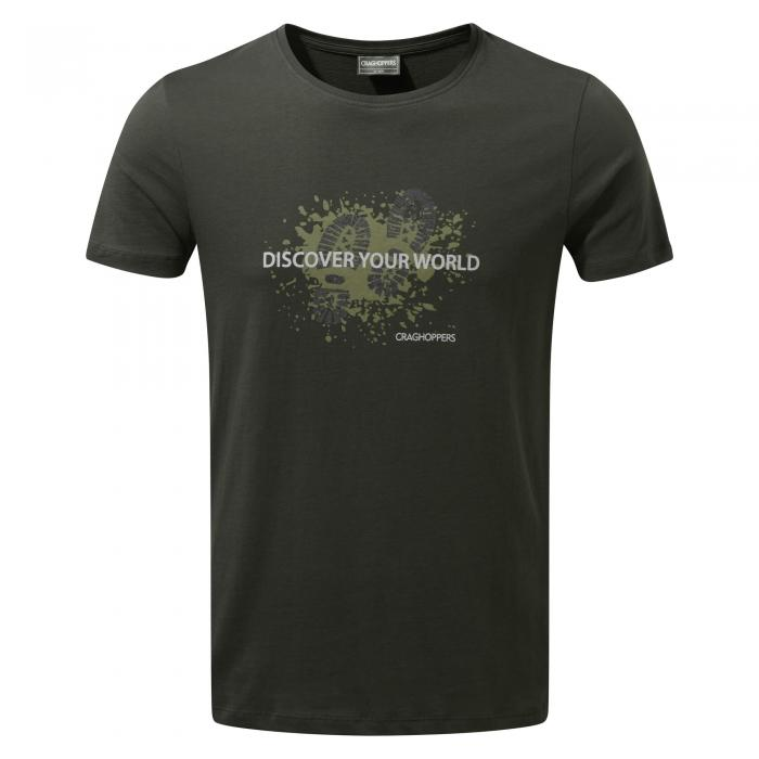 Eastlake Short Sleeved T-Shirt Boot Dark Khaki