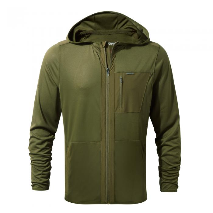 NosiLife Elgin Hood Jacket Dark Moss