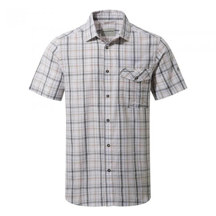 Westlake Short Sleeved Shirt Dark Grey Combo