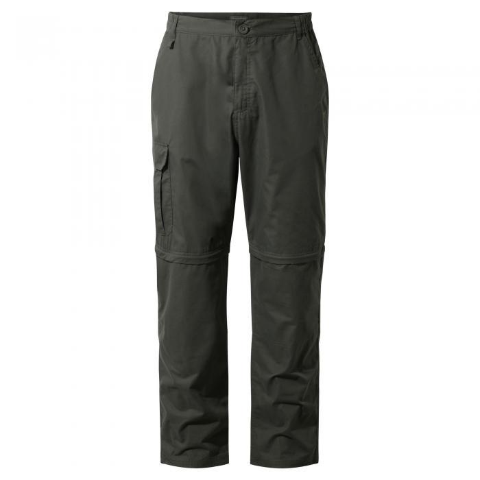 C65 Convertible Trousers Dark Khaki