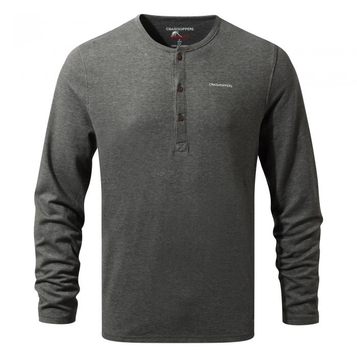 NosiLife Newark Long Sleeved Black Pepper Marl