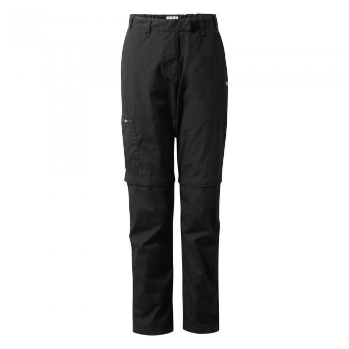 Kiwi II Convertible Trousers Black