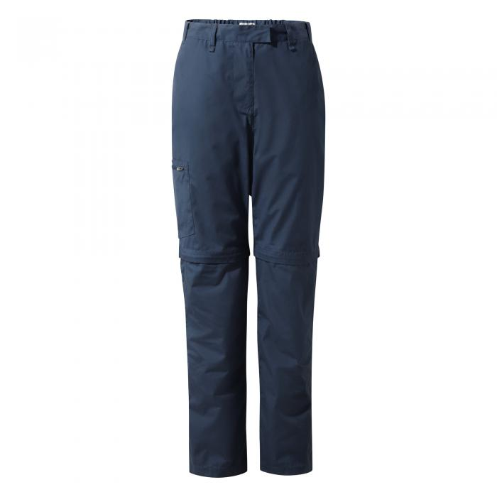 Kiwi II Convertible Trousers Soft Navy