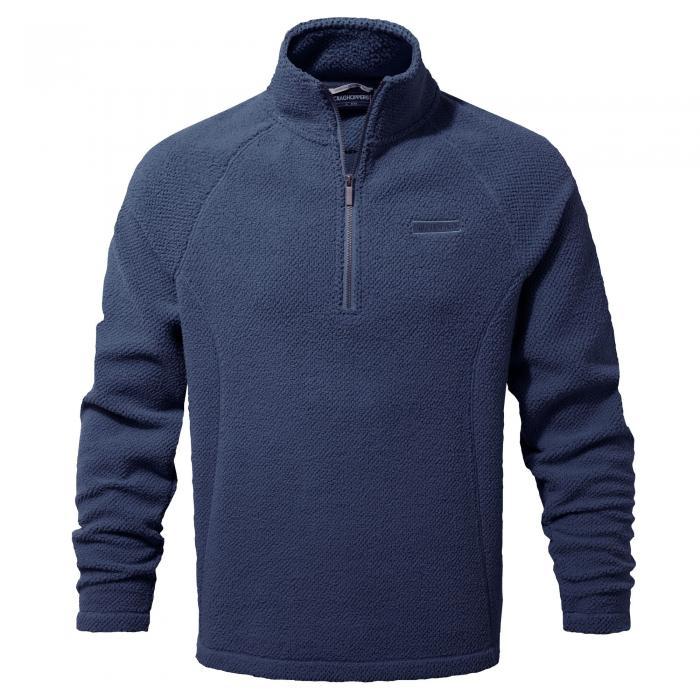 Barston Half Zip Night Blue