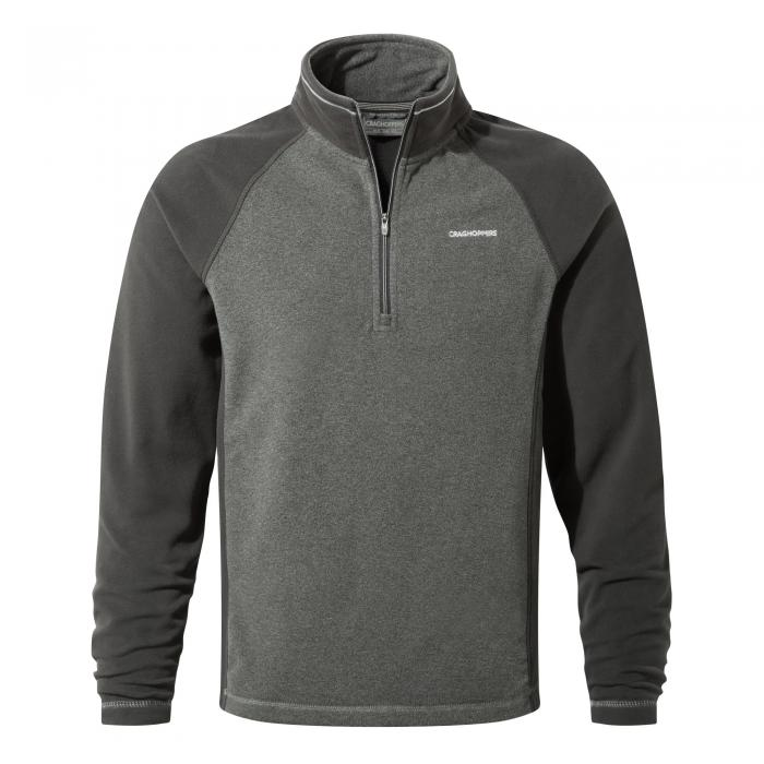 Union Half Zip Black Pepper Black