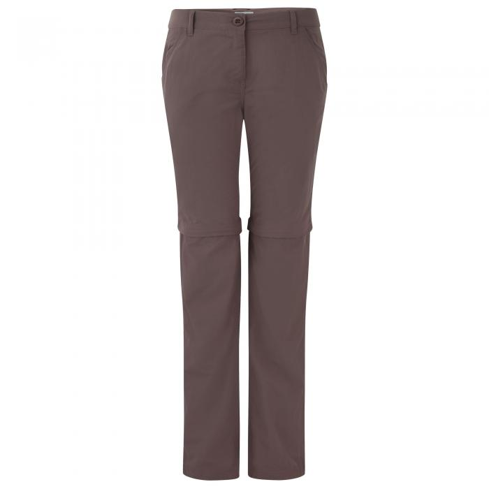 NosiLife Zip-Off Trousers Cafe Au Lait