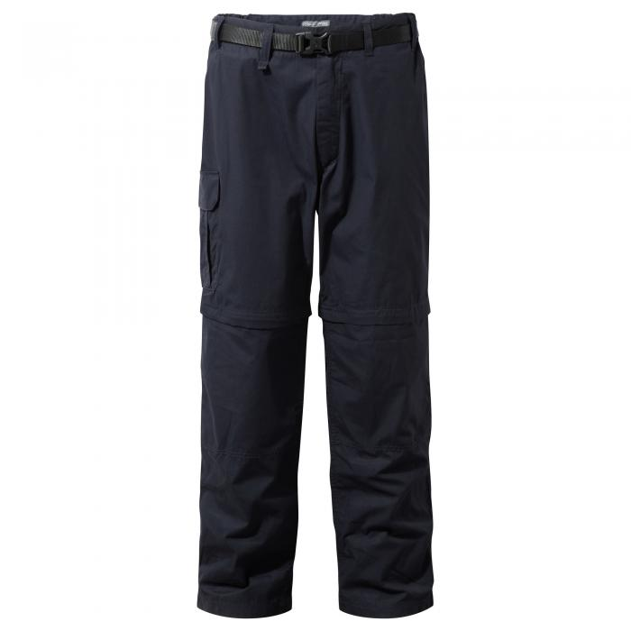 Kiwi Convertible Trousers Dark Navy