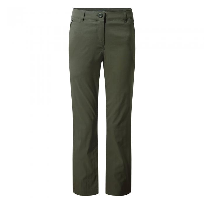 Kiwi Pro Stretch Trousers Mid Khaki