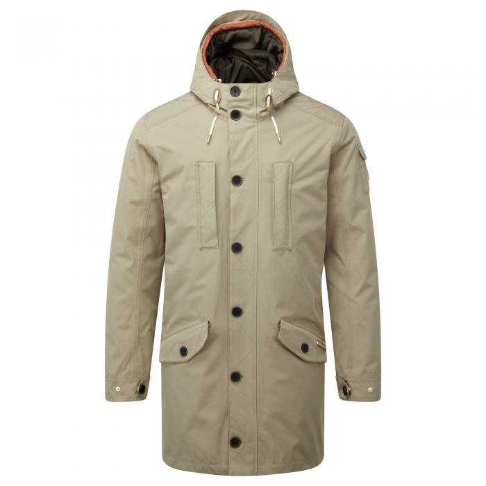 364 3 in 1 Hooded Jacket Camel