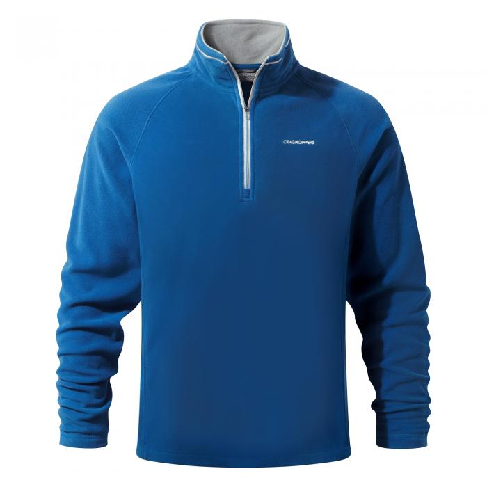Selby Half Zip Deep Blue
