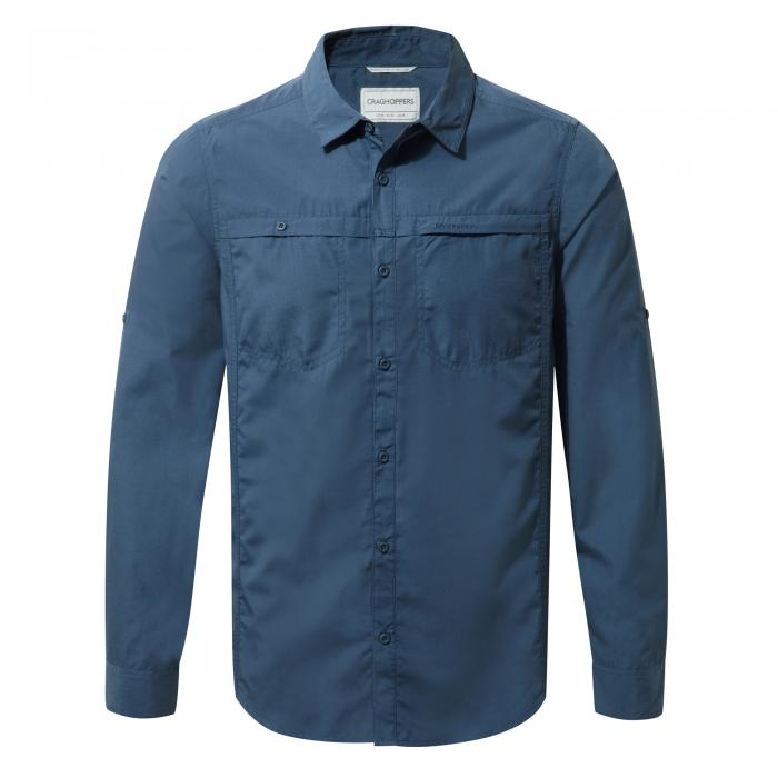 Kiwi Trek Long-Sleeved Shirt Vtage Indigo