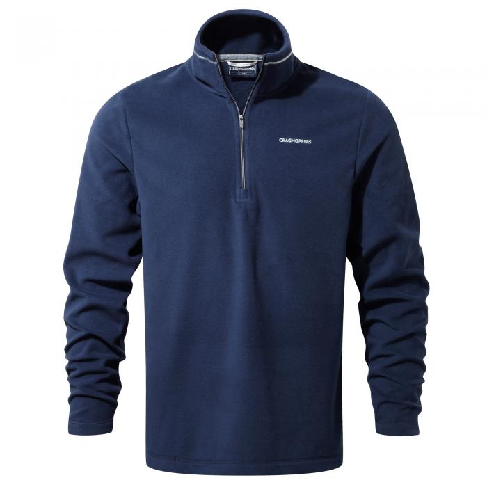 Corey III Half Zip Night Blue
