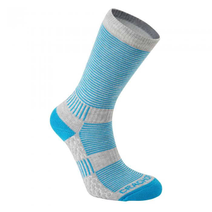 Heat Regulating Travel Sock Aegean Dove