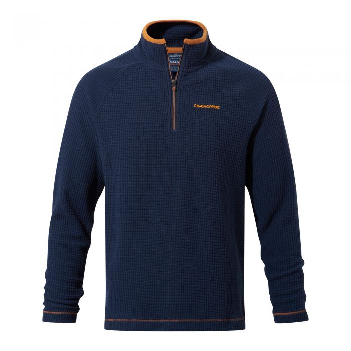 Discovery Adventures Half Zip Fleece Night Blue