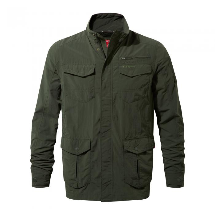 NosiLife Adventure Jacket Dark Khaki