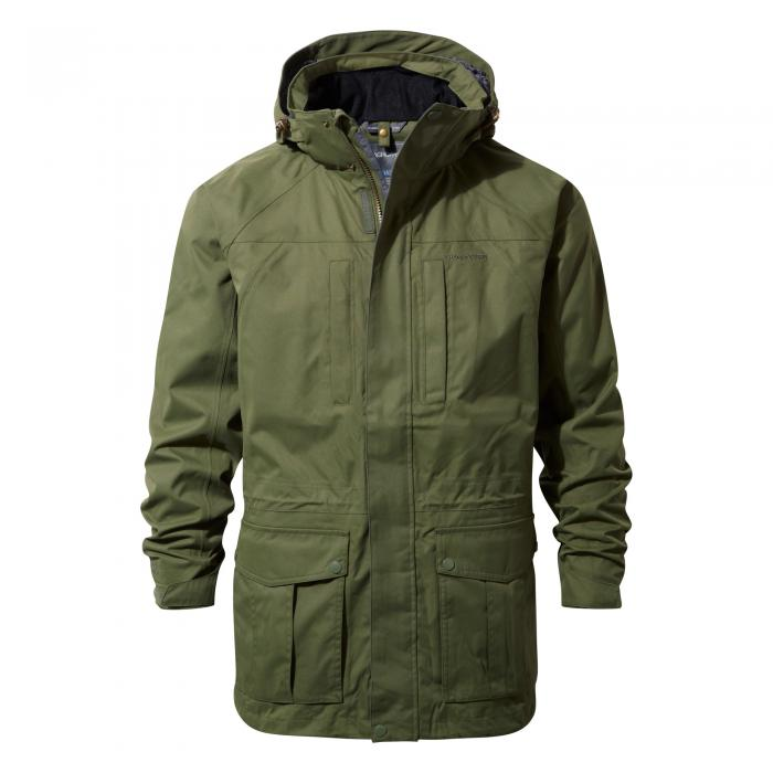 Kiwi Long Interactive Jacket Parka Green