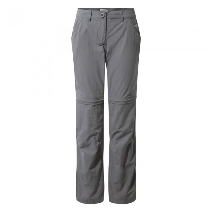 NosiLife Zip-Off Trousers Platinum