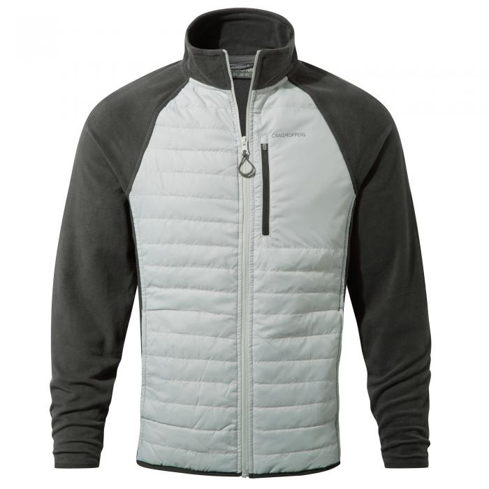 C65 Hybrid Jacket Light Grey Black