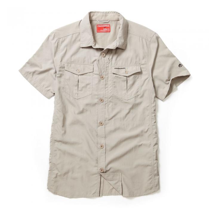 NosiLife Adventure Short Sleeved Shirt Parchment
