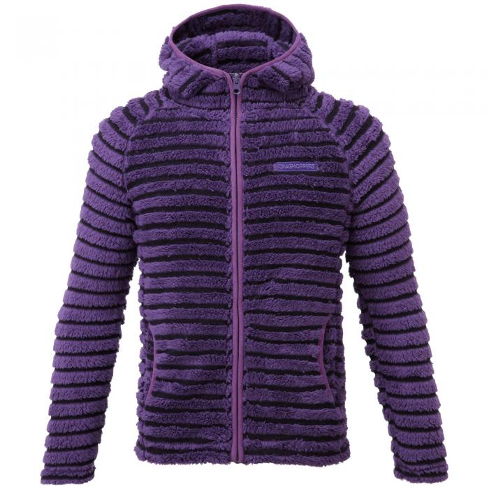 Girls Appleby Jacket Dark Plum