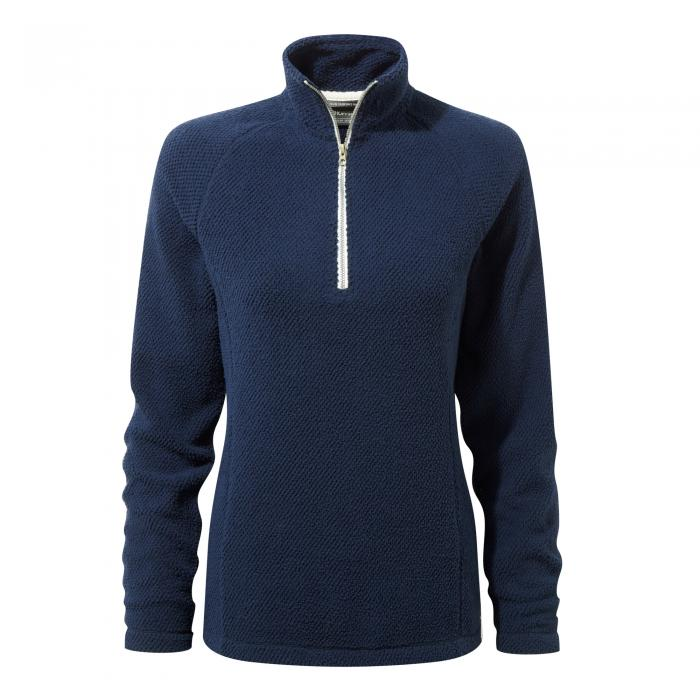 Moira Half Zip Fleece Night Blue