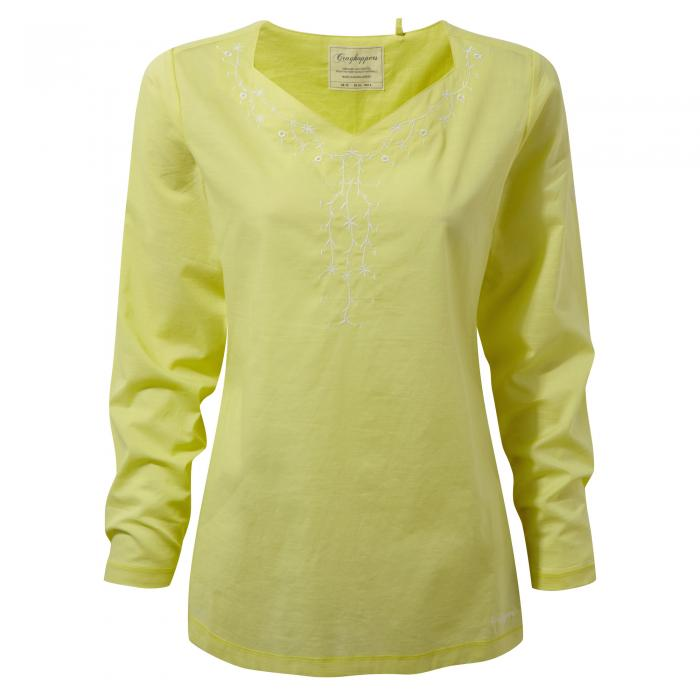 Rayna Long Sleeved Top Limeade
