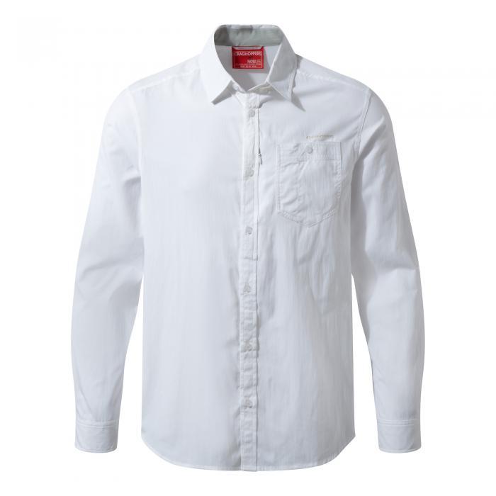 NosiLife Tatton Long Sleeved Shirt Optic White