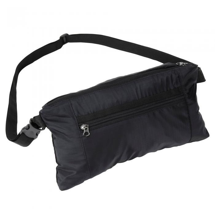 3 in 1 Packaway Rucksack Black