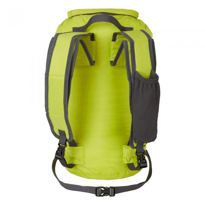 15L Packaway Waterproof Rucksack Yellow/Quarry
