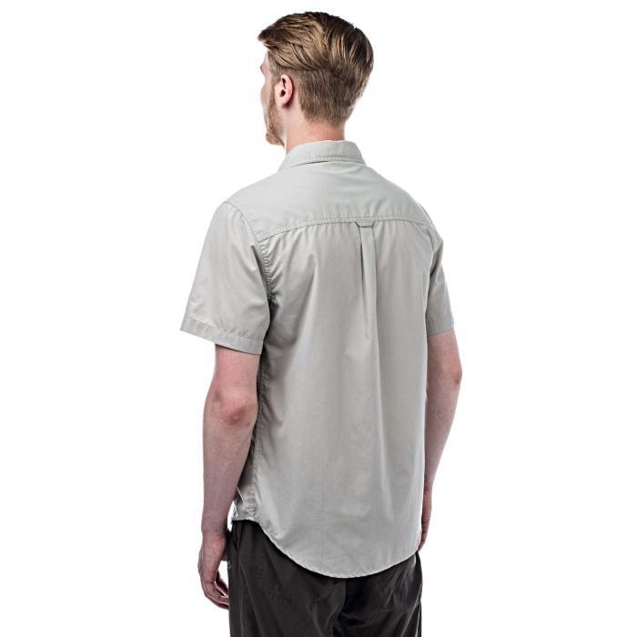 Kiwi Trek Short Sleeved Shirt Parchment