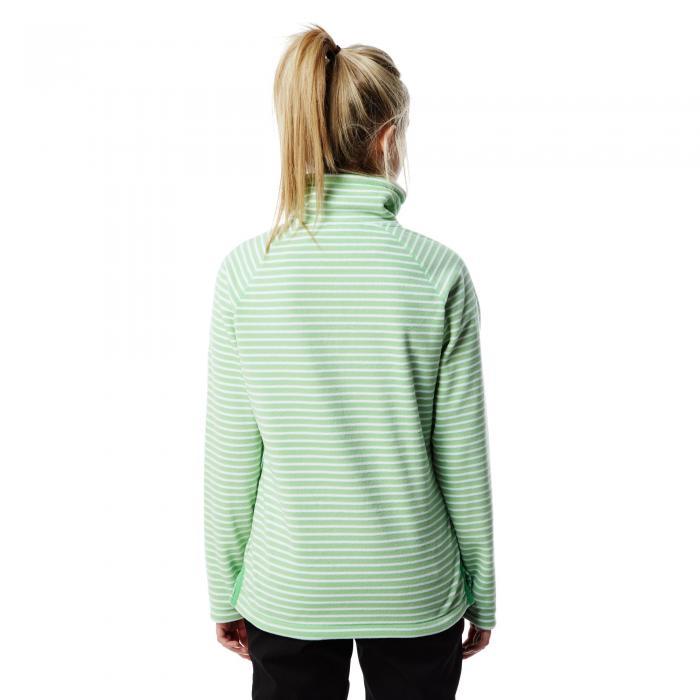 Rhonda Half Zip Fleece Apple Tang Combo