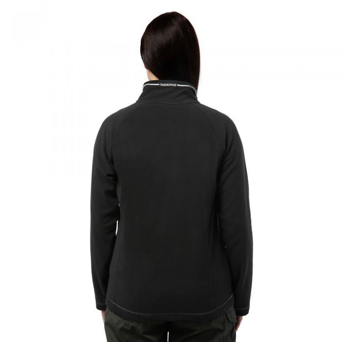 Seline Half Zip Black
