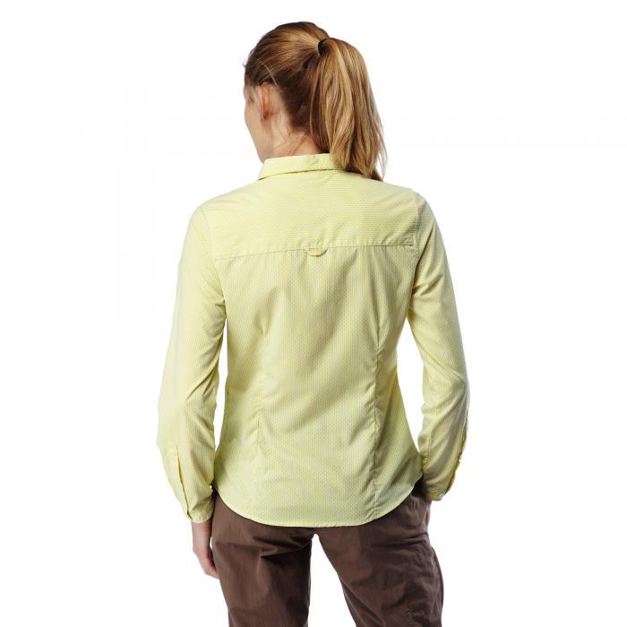 NosiLife Shona Long Sleeved Shirt Limeade Combo